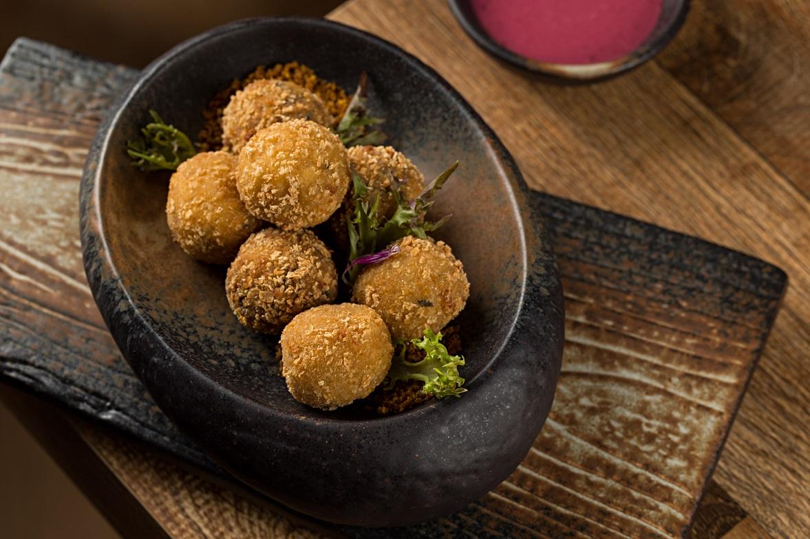 Croquetes de cogumelos